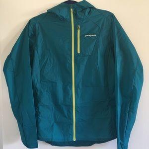 Patagonia jacket, windbreaker, rain jacket